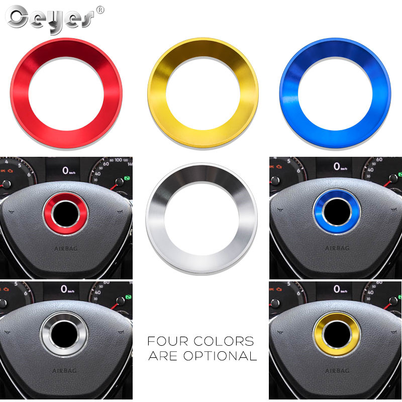 Car steering wheel decoration circle ring sticker for VOLKSWAGEN (15)