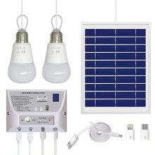 Солнечный светильник, фотогальванический внешний аккумулятор, зарядка мобильного телефона, портативная солнечная система