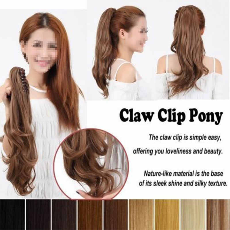 Detail Feedback Questions About Snoilite Synthetic Claw On Ponytail