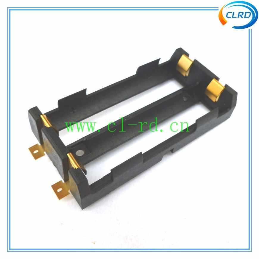 10 шт./лот лучшее качество двойной отсек 18650 батарея sled SMT/SMD держатель батареи 1048 для 18650 3,7 в перезаряжаемые литиевые батареи