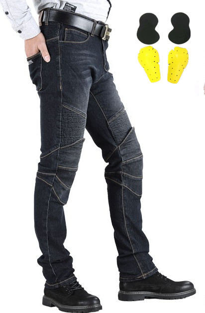 New Motorcycle Pants Men Moto Jeans Protective Gear Riding Touring Motorbike Trousers Motocross Pants Pantalon Moto Pants-in Trousers from Automobiles & Motorcycles    1