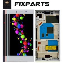 Black X Compact For Sony Xperia X mini LCD Display With Touch Screen Digitizer Assembly F5321 Replacment For SONY X Compact LCD(China)