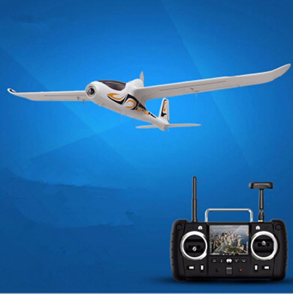 F15315 Hubsan H301S FPV HD Aerial Photography Airplane RTF with GPS Real-time Image Fixed-wing Aircraft hubsan h301s spy hawk 5 8g fpv 4ch rc airplane rtf with gps module