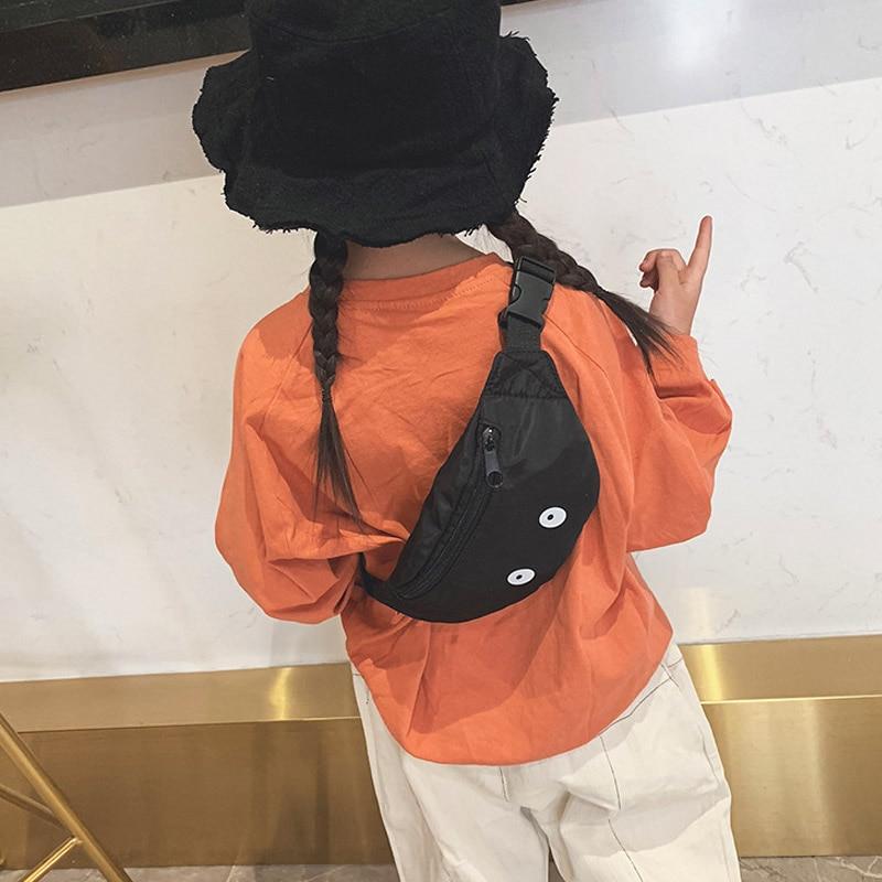 2019Children Waist Pack Cartoon Chest Bag Kid Boy Girl Waist Bags Belt Bag Adjustable Fanny Packs Convenient Mobile Wallet
