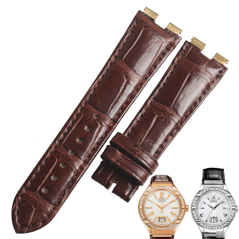 WENTULA watchbands for PIAGET G0A31159 Polo alligator skin /crocodile grain watch band man