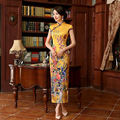 2016 New Long Cheongsam Dress Modern Qipao Dress Sexy Chinese Dresses Chinese Traditional Dress Vestido Oriental Qi Pao