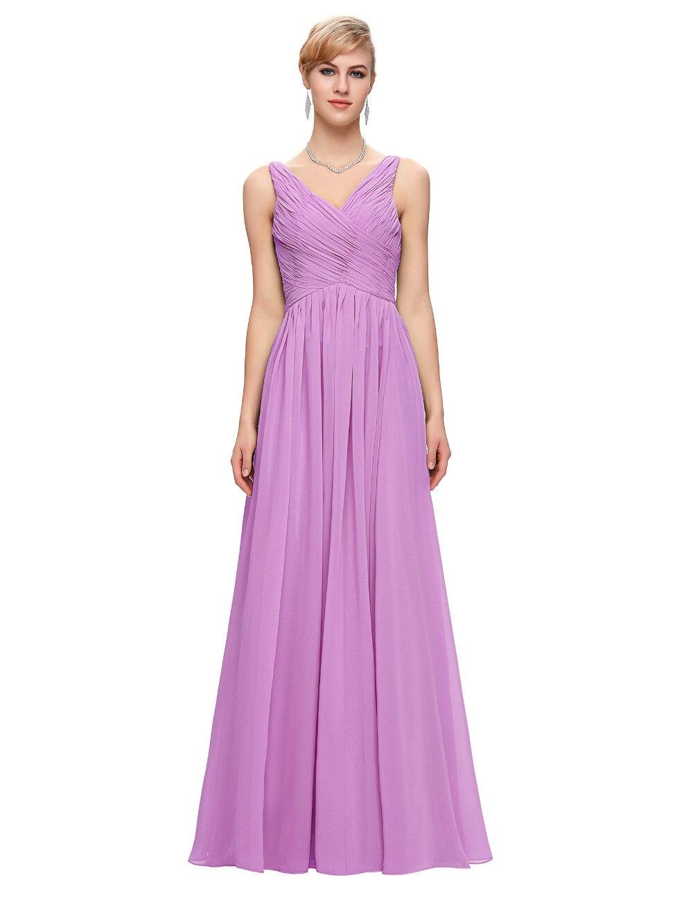 Baratos Rosa elegante Vestido de Noche Vestidos de Baile 2017 de ...