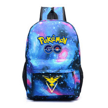 fda2d91bd40f 2018 Pokemon Backpack Pocket Monster School Bag Ash Ketchum Pikachu School  Backpacks Girls Boys Toddler Bag Kids Book Bags