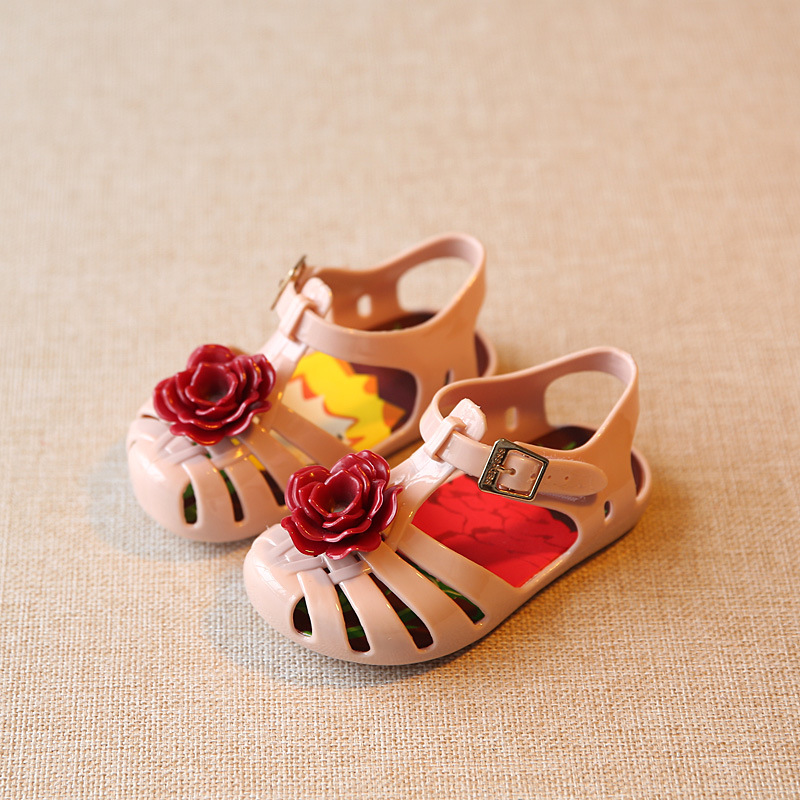 Children Shoes Girl Summer Sandales Fille kids Girls Jelly Shoes Girls Princess Sandals Flower mini melissa sandals kid shoes ...