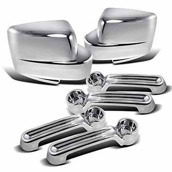 Chrome Door Handles Chrome Mirror Covers FOR Jeep Liberty 08-12 / Dodge Nitro 07-11 Sxt Slt - DISCOUNT ITEM  20% OFF All Category