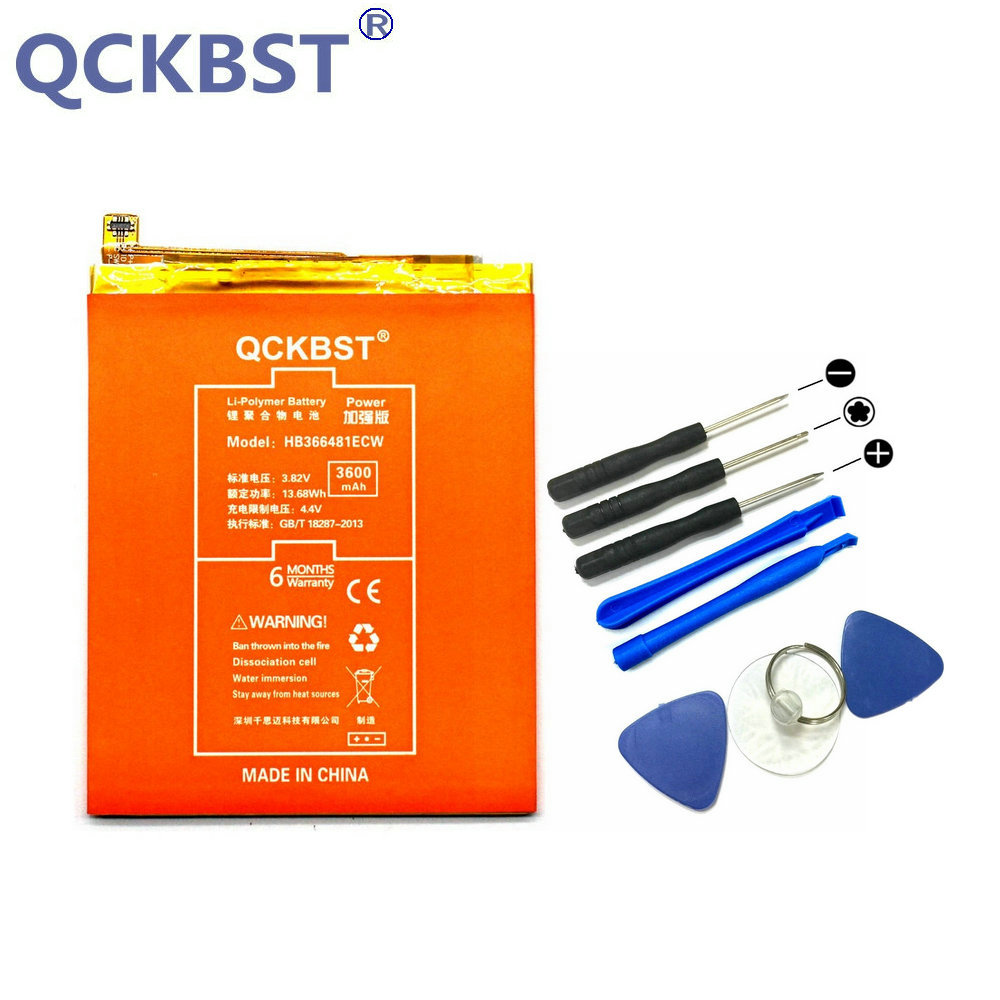 QCKBST New HB366481ECW P10Lite Battery For Huawei P10 Lite WAS-L03T WAS-LX2J LX1 WAS-LX3 LX2J 3600mAh High Capacity BatteriesQCKBST New HB366481ECW P10Lite Battery For Huawei P10 Lite WAS-L03T WAS-LX2J LX1 WAS-LX3 LX2J 3600mAh High Capacity Batteries