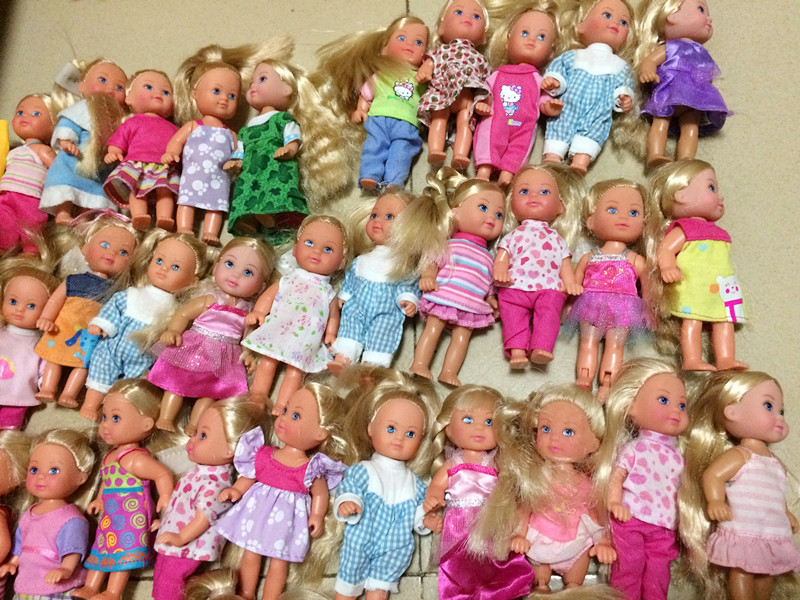 O For U 5 Pieces Lot Hot Sale Original Simba Kelly Dolls Evi Cute