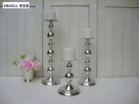 17 Single Silver Tea Light Holder Candlestick Holder Home Decoration