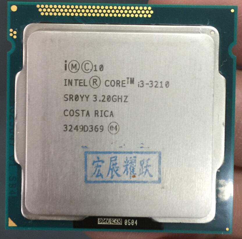 Intel Core i3 3210 i3 3210 Processor 3M Cache 3 2 GHz LGA1155 Desktop CPU