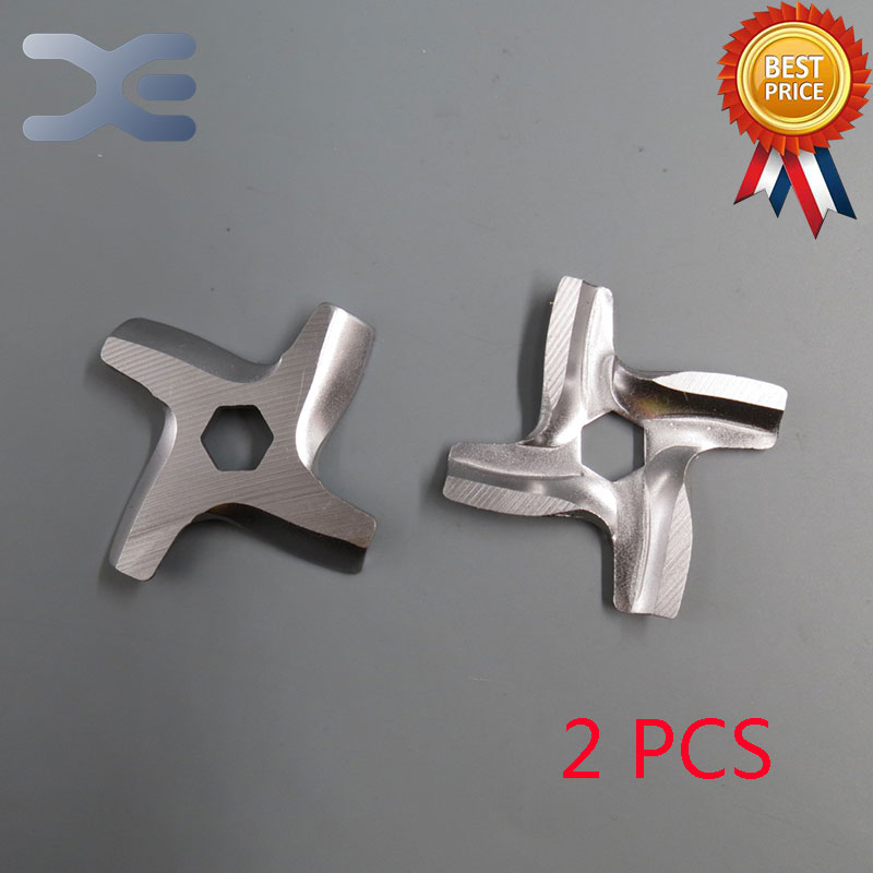 2Per Lot New High Quality Meat Grinder Parts #5 Blade Mincer Knife Fits Moulinex Free Shipping
