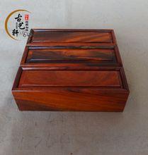 Древний Yi Xuan палисандр, палисандр уплотнения коробки, шкатулки, джейд box