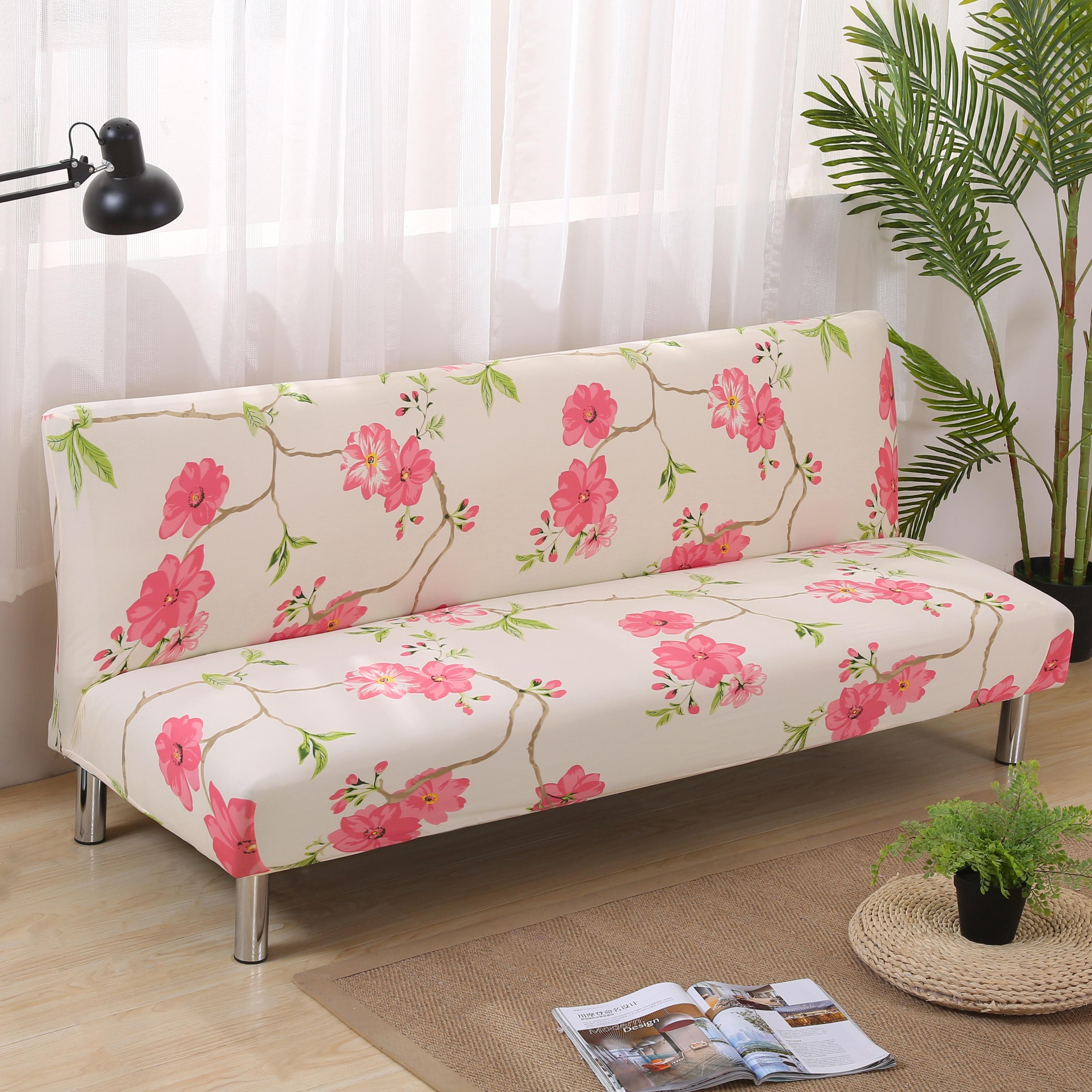 stretch sofa covers elastic no handrail folding sofa bed. Black Bedroom Furniture Sets. Home Design Ideas