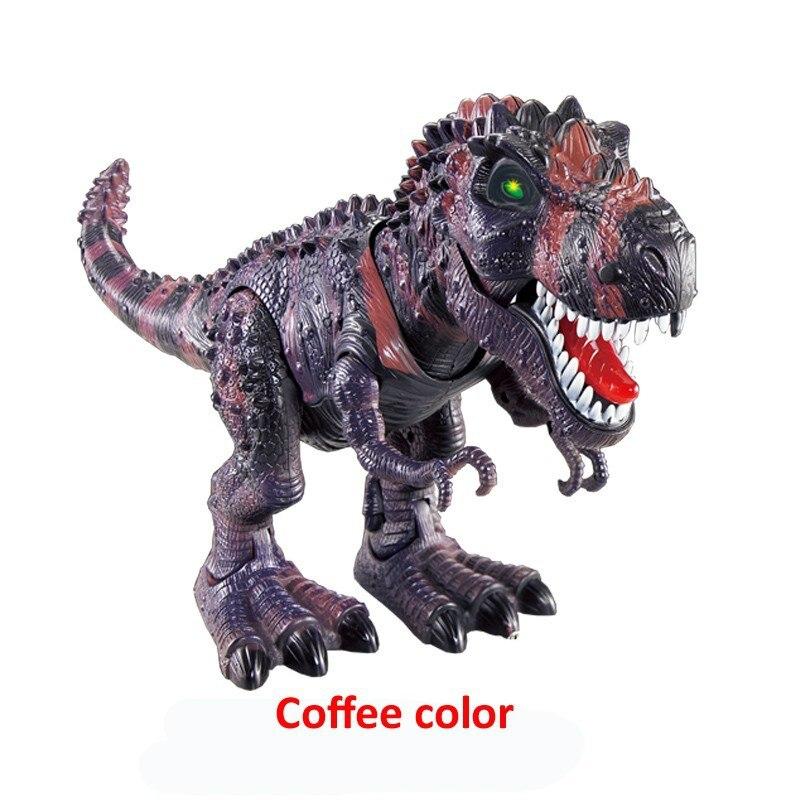 novo dinossauro eletrico grande tamanho andando dinossauro 04