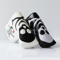 Two Colors Skull PU Golf Headcover For Blade Golf Putter Free Shipping