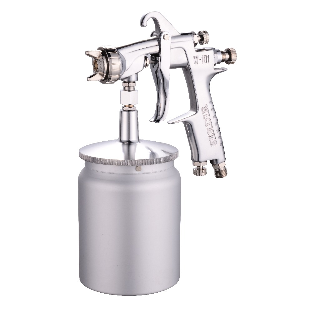 Siphon W-101 Spray Gun High Atomizing Paint Spray Gun Furniture Spray Gun Spraying Equipment 1.0 кастрюля эмалированная metrot вилладжо с крышкой 7 5 л page 9