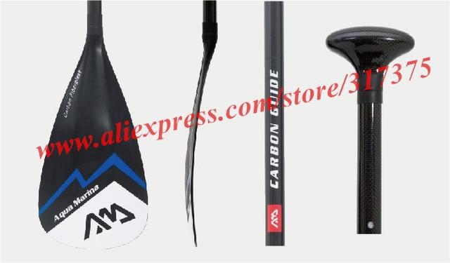 76dc04f06 AQUA MARINA guia de remo de fibra de carbono para SUP stand up paddle board  para
