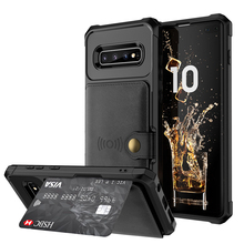 Luxury Leather for Coque Samsung S10Plus Case Flip Cover Samsung Galaxy S10 Case Magnet for Samsung S10e Case Galaxy S10 Plus
