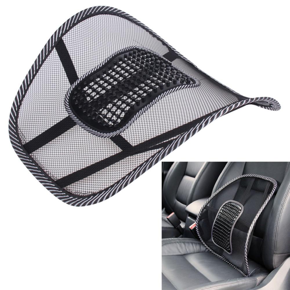 VODOOL Office Chair Car Seat Cover Sofa Cool Massage Cushion Lumbar Back Waist Brace