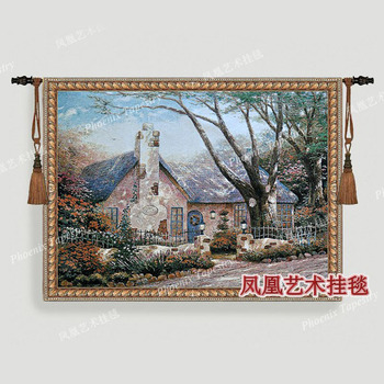 Beautiful Florida countryside house static landscape painting 102*138cm wall hanging tapestry living room pictures decor H188