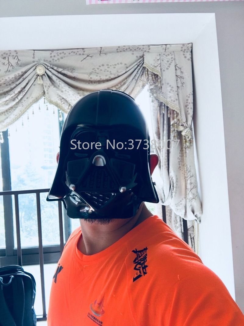 15Pcs/lot Star Wars Stormtrooper PVC Full Face Mask for Kids Adult Age Halloween Party