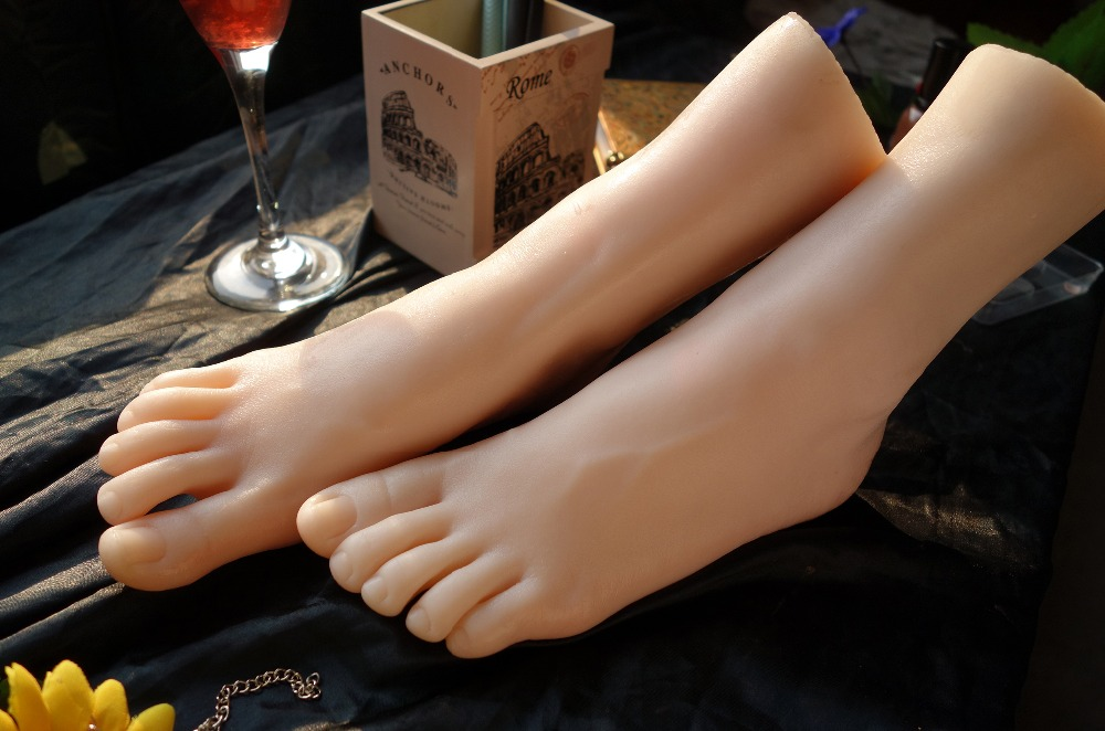 Real skin sex dolls japanese masturbation full silicone life size fake feet foot fetish toy sexy toys love doll top quality new sex product soft feet fetish toys for man lifelike female feet mannequin fake feet model for sock show ft 3600 1