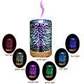 3D Aroma Diffusor Luftbefeuchter 7 Farbe LED-Licht Ultra-ruhigen Tragbare Ultraschall Luftbefeuchter Aromatherapie Home