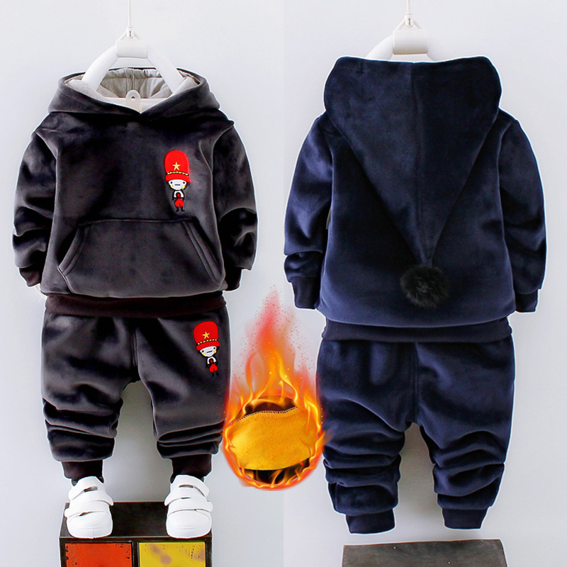 Toddler Tracksuit Autumn Baby Clothing Sets Children Boys Girls Fashion Brand Clothes Kids Hooded T-shirt And Pants 2 Pcs Suits toddler boys clothing cotton kids clothes children autumn jackets shirt pants suits baby boy clothing set children