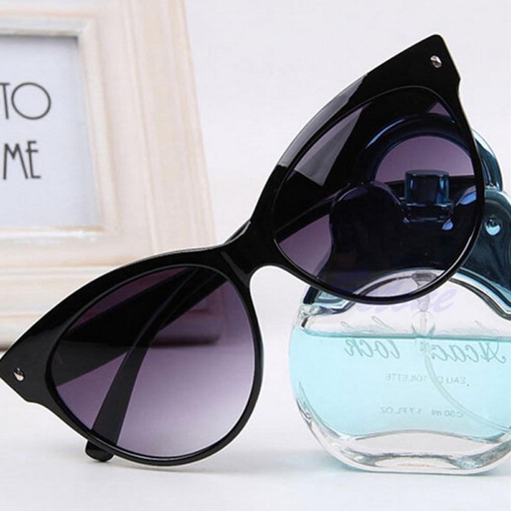 A forma Das Mulheres Clássico Óculos Vintage Designer Cat Eye Shades Óculos  Moldura Frete grátis O123 15d6596c56