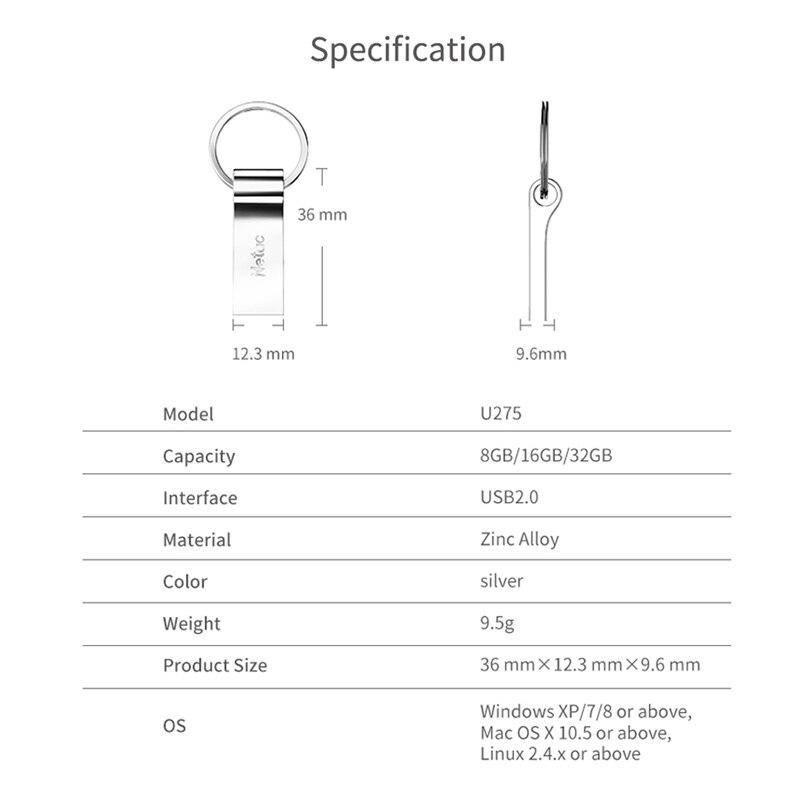 16 GB Netac Pen Drive Waterproof price in Bangladesh