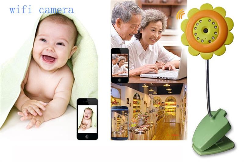 Newest-Wifi-Wireless-Baby-Monitor-Security-Camera-Flower-Night-Camera-for-IPhone-IPad-Android-Free-Shipping (4)
