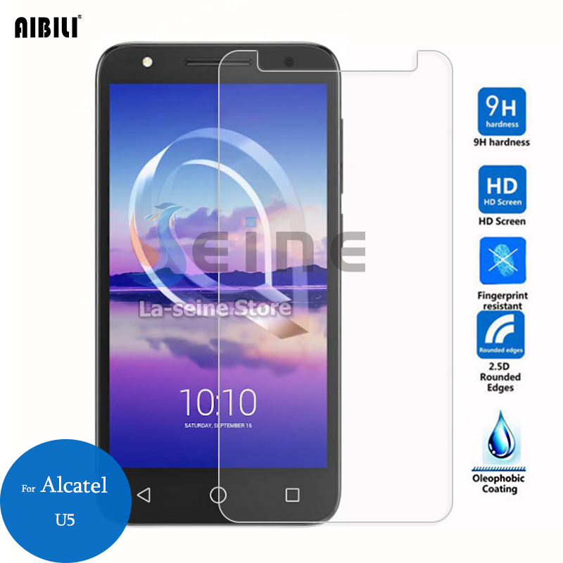 Tempered Glass For Alcatel  U5 Screen Protector 2.5D 9H Safety Protective Film On U 5 5044D 5044Y 5047D 5047Y 5.0inchTempered Glass For Alcatel  U5 Screen Protector 2.5D 9H Safety Protective Film On U 5 5044D 5044Y 5047D 5047Y 5.0inch