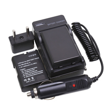 EN-EL14 ENEL14 1400mAh RePlacement Battery + Car Charger for Nikon DSLR D3300 D3200 D3100 D5100 D5200 D5300 D5500