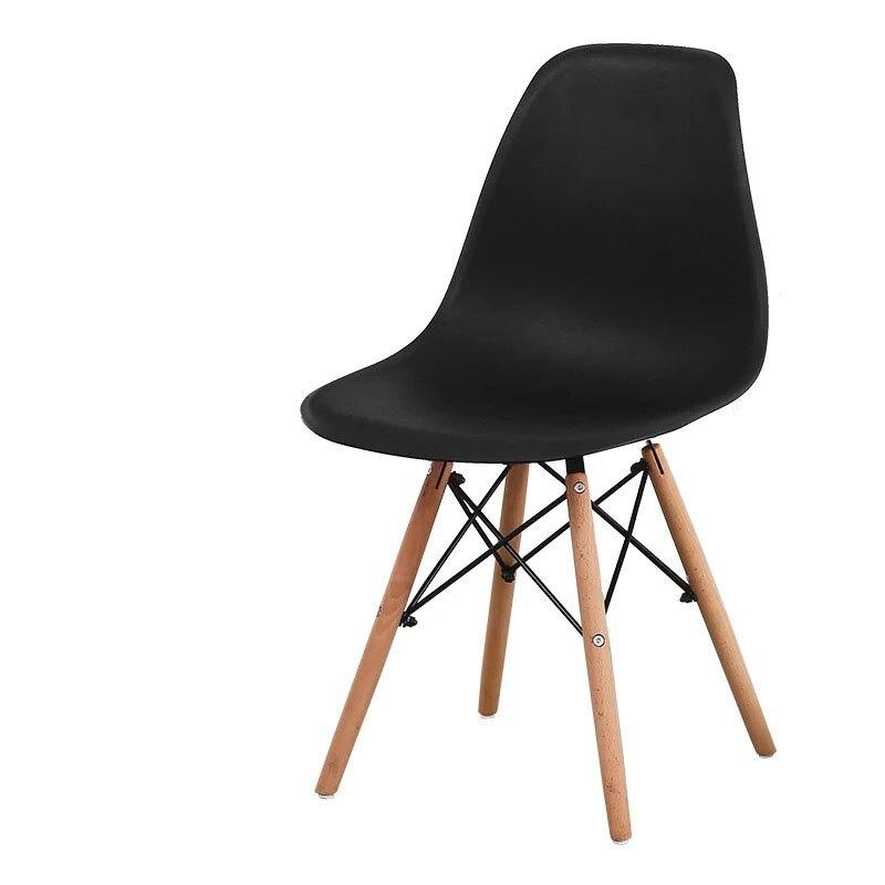 Минималистичный современный стул для отдыха, черный стул для гостиной, домашняя Обеденная Мебель для ресторана, скандинавский диван, спинка, оттоманская - Цвет: C