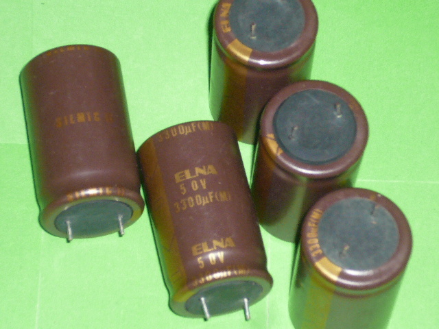 [SA]ELNA Japanese original SIL MIC II generation mill Sharpei Need electrolysis <font><b>3300UF</b></font>\<font><b>50V</b></font> original box genuine--10pcs/lot image