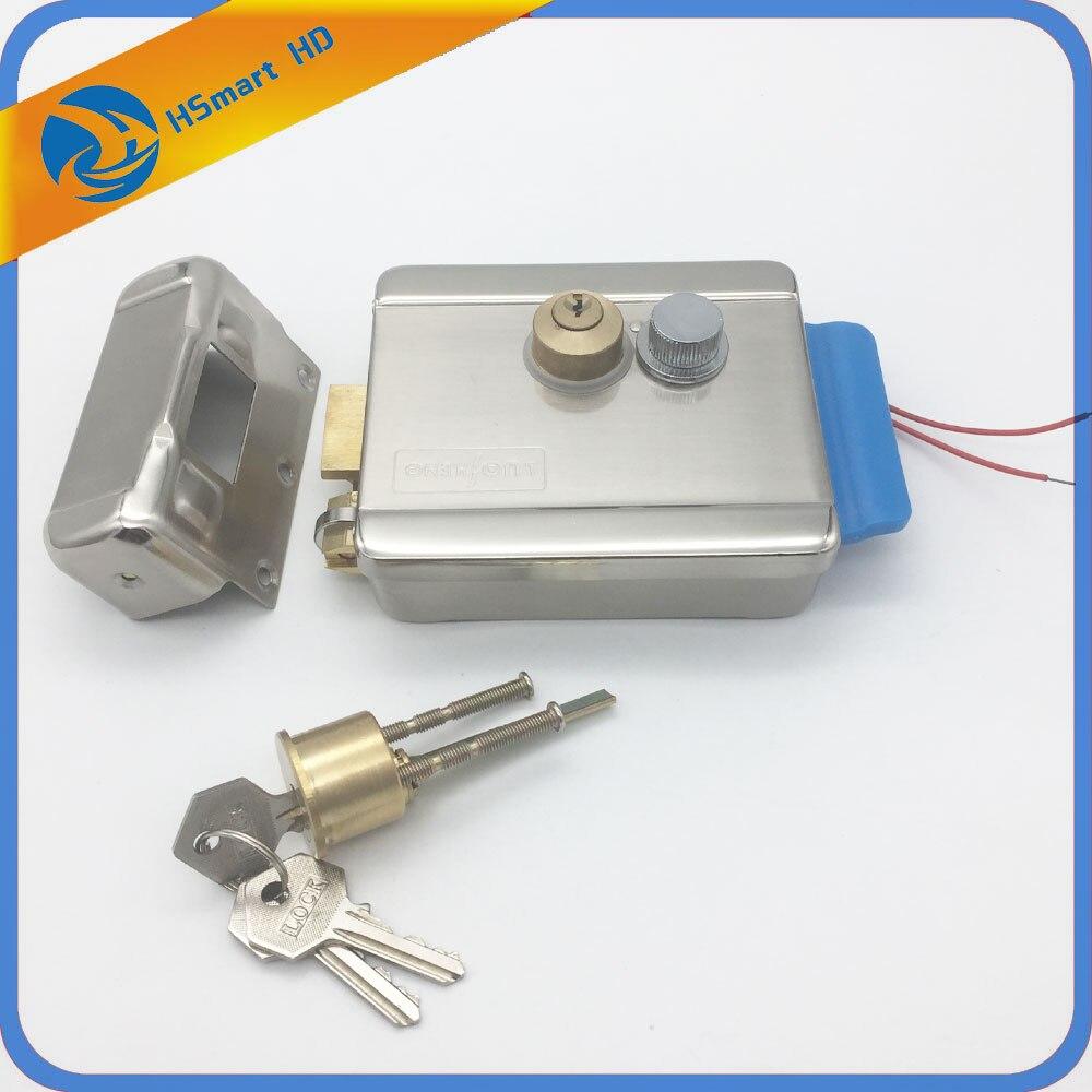 Electric Lock Electronic Door Lock for Video Intercom Doorbell Door Access Control System Video Door Phone Best for Home System