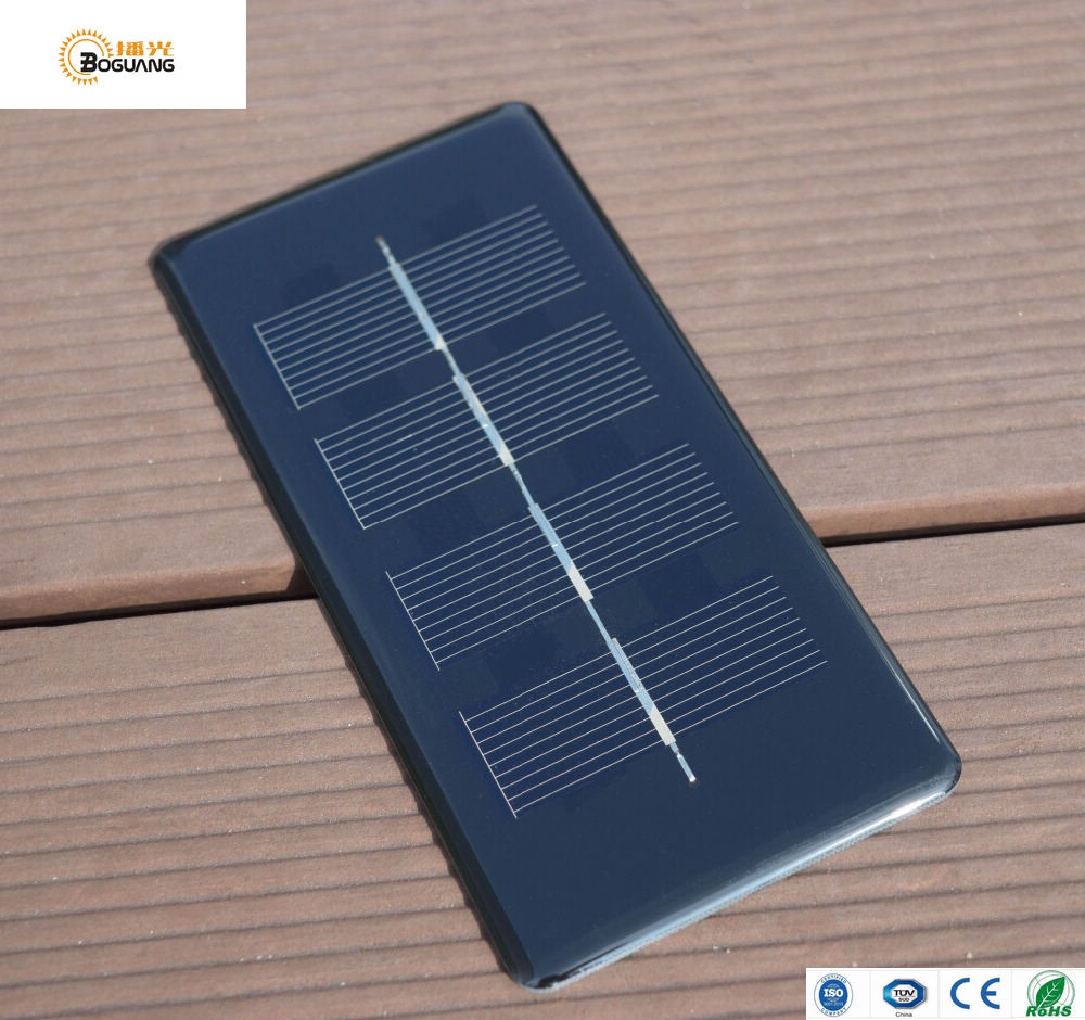 Xinpuguang 5pcs 0.5W 2V solar panel Epoxy PCB mini portable polycrystalline cell factory price educational puzzle diy toy