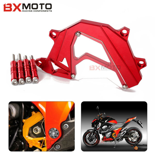 BXMOTO CNC Motorcycle For Kawasaki Z800 Z 800 2013 2015 Front Sprocket Covers Panel Left