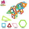 Mylitdear 33 unids tamaño grande diseñador magnético bloques de construcción de juguete modelo de juguete enlighten plástico magnético educativos juguetes para niños