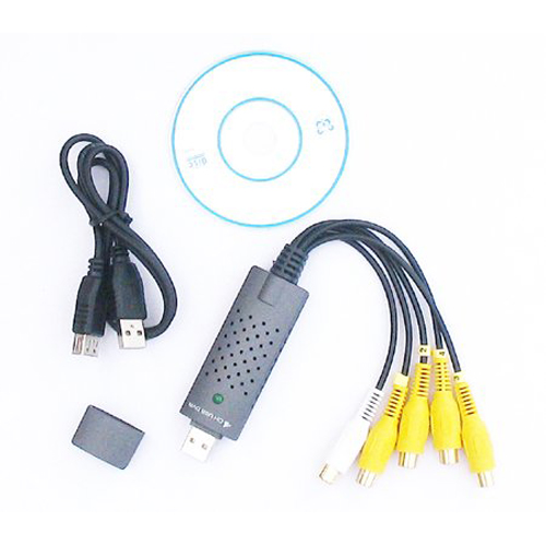 CAA-DC60 - USB 2.0 Video Capture Adapter with Video Editing Software