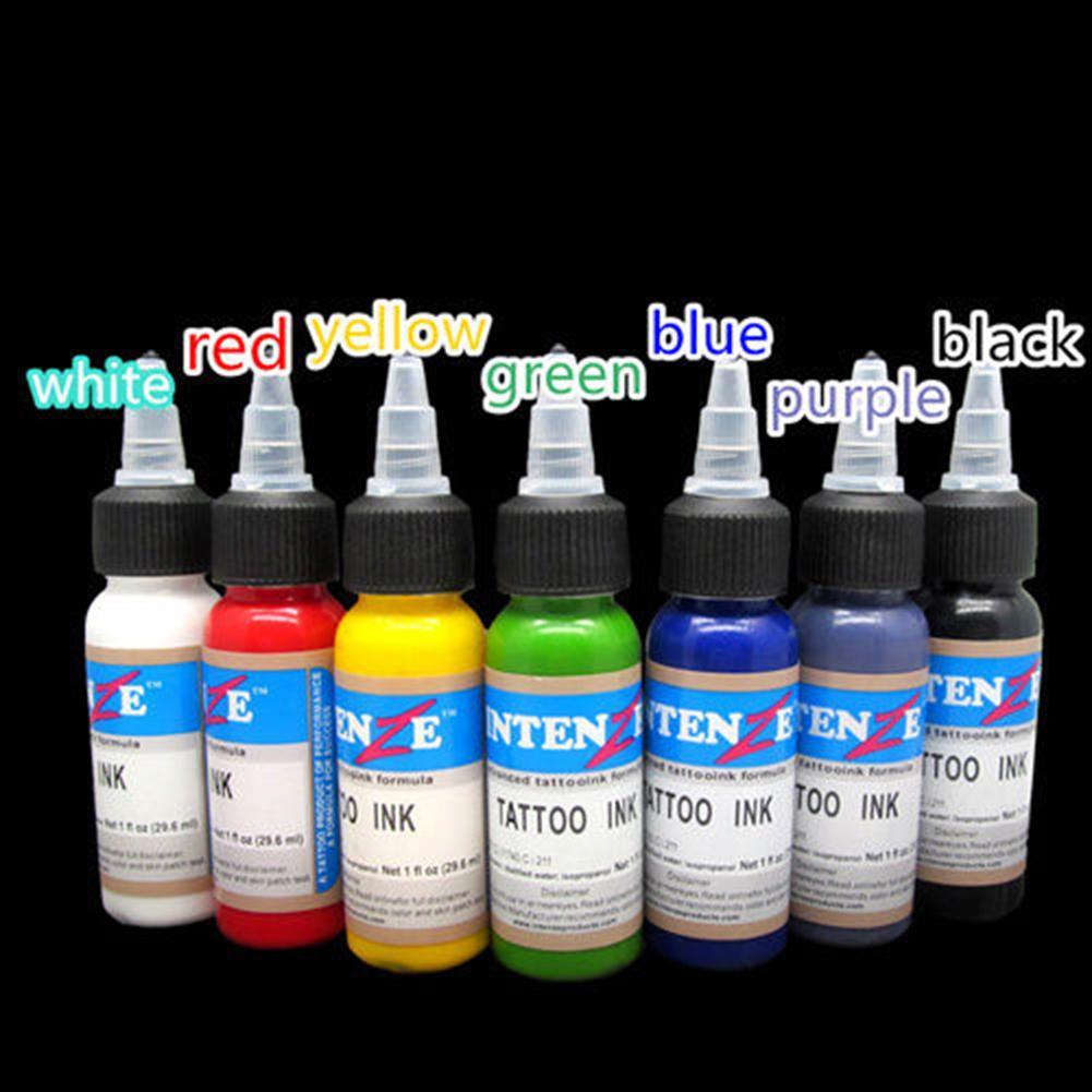 Tattoo Ink Monochrome Practice Set 30ml/ Bottle Tattoo Pigment Tattoo & Body Art Paint Makeup Tattoo Supplies Tools