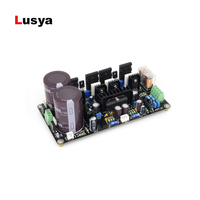 HIFI 2.0 125W+125W A1943/C5200 IRFP9240/IRFP240 power amplifier board with UPC1237 speaker protection circuit T0573