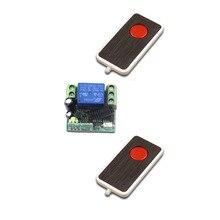New DC12V Mini Wireless Remote Control Switch 1 Channal Inte