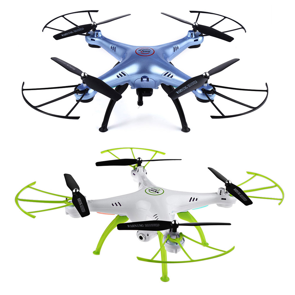 Syma X5HW 2.4G RC Drone Quoadcopter with HD Camera FPV 4CH Helicopter M09 professional syma x5uc 4ch quadrocopter rc drone 2 4g remote control drone with hd camera rc helicopter with original box