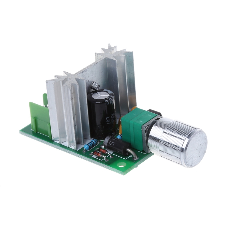 6A 6V-12V High Power PWM Stepless Speed Control Board DC Motor Switch Module