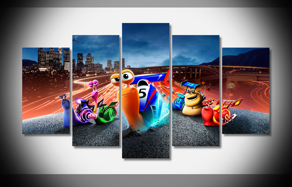 7373 turbo movies Poster Framed Gallery wrap art print home wall decor Gift wall picture Already to hang digital print